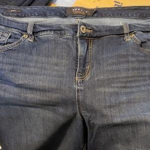 Torrid sz 22r skinny leg almost new jeans